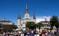 The Scene at Jackson Square