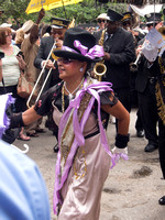 Jennifer.   Grand Marshall for Lindy Boggs Second Line