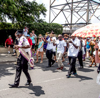 Louis Armstrong Satchmo Summer Fest  Second Line Grand Marshall