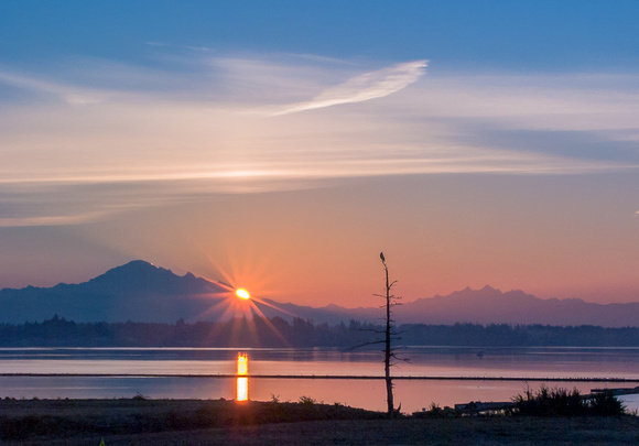 Dawn on the Semiahmoo Spit