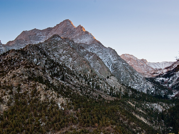 Mt Whitney From the Portal