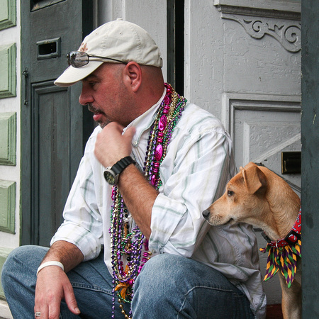 Watchers On Bourbon Mardi Gras 2-2008